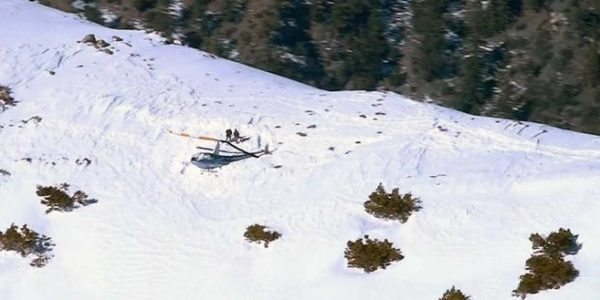 Mount Baldy, CA Helicopter Crash Injures All on Board