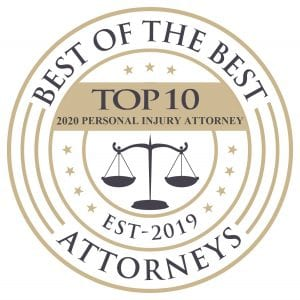 Best of the Best Top 10 2020 Personal Injury Attorney