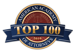 American Academy of Attorneys Top 100 2019