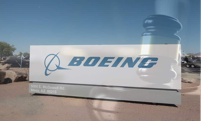 Aviation Lawsuit Filed Against Boeing Regarding Hard Landing