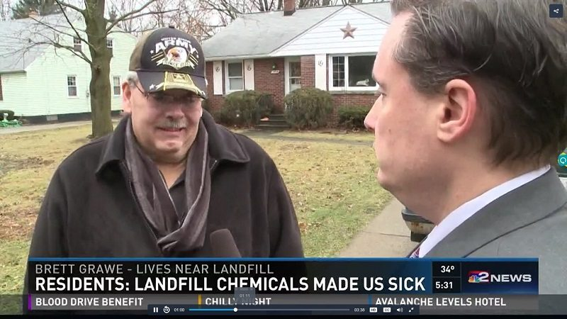 Liver Cancer Patient Wheatfield Resident on NBC