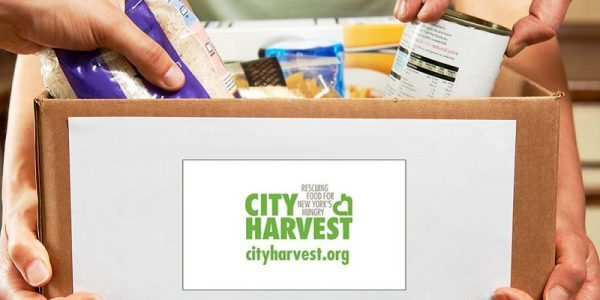 Giving Back to City Harvest and Long Island Cares