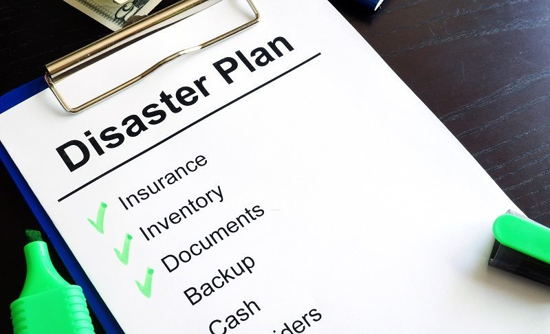 Have A Disaster Preparation Plan