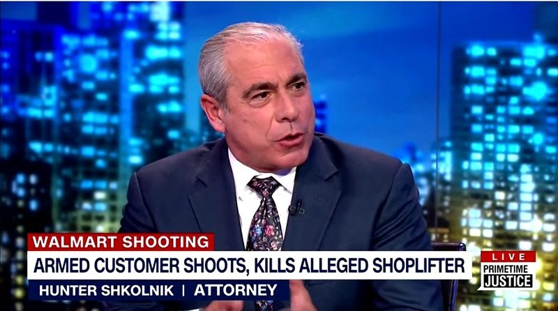 Hunter Shkolnik Invited Back to PrimeTime Justice To Offer His Legal Opinion