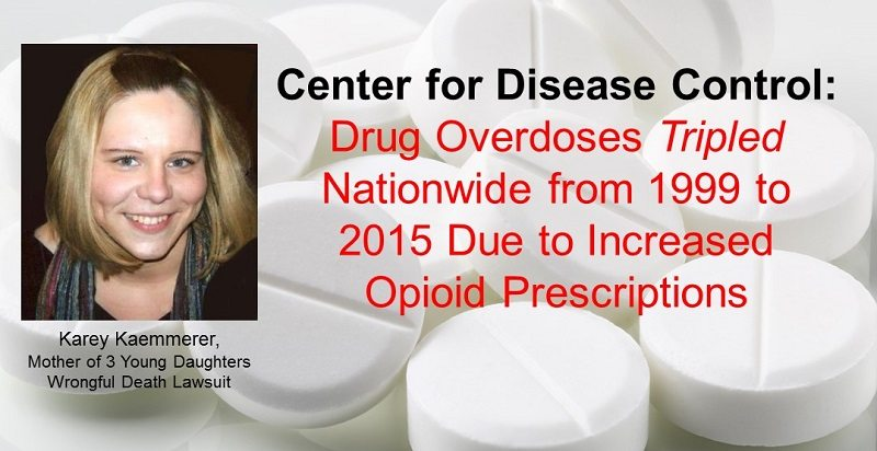 Lawsuit Filed On Behalf Of Mother Of 3 for Opioid Death