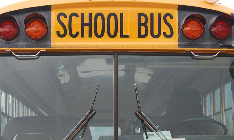 Long Island School Buses Are Watching You