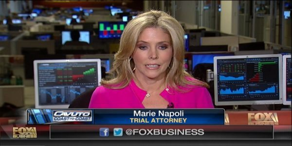Marie Napoli Appears on Fox Business Coast to Coast