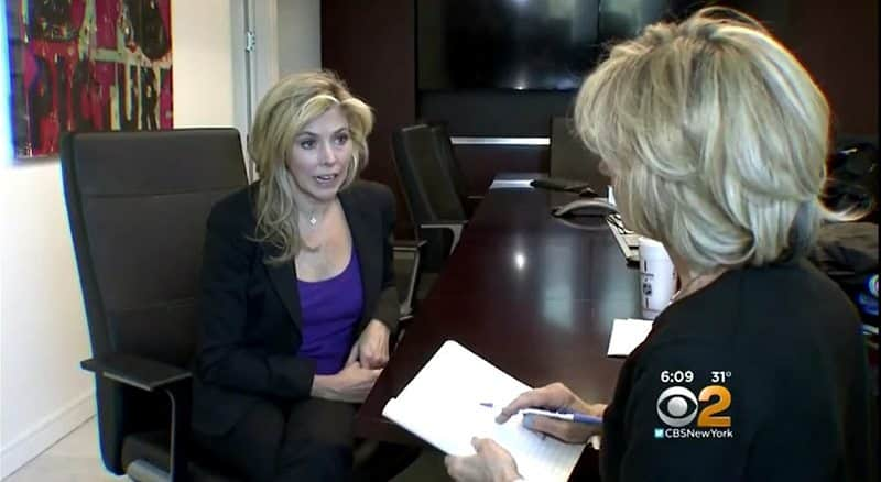 Marie Napoli's WCBS Interview on Westhampton Water