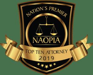 Nation's Premier Naopia Top Ten Attorney 2019