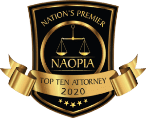 Nation's Premier Naopia Top Ten Attorney 2020