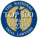 National Trial Lawyers Top 100 Member Seal