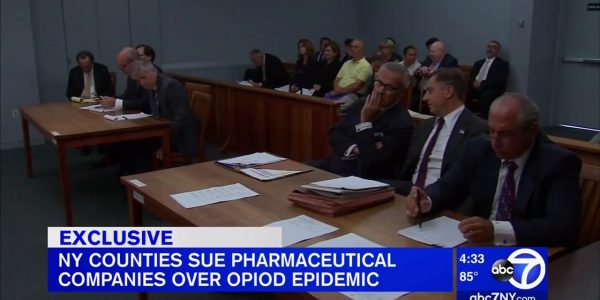 Paul and Marie Napoli Speak to ABC-7 on Opioid Litigation