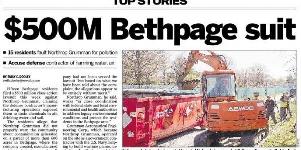 Hunter Shkolnik Quoted in Newsday Regarding Bethpage Lawsuit