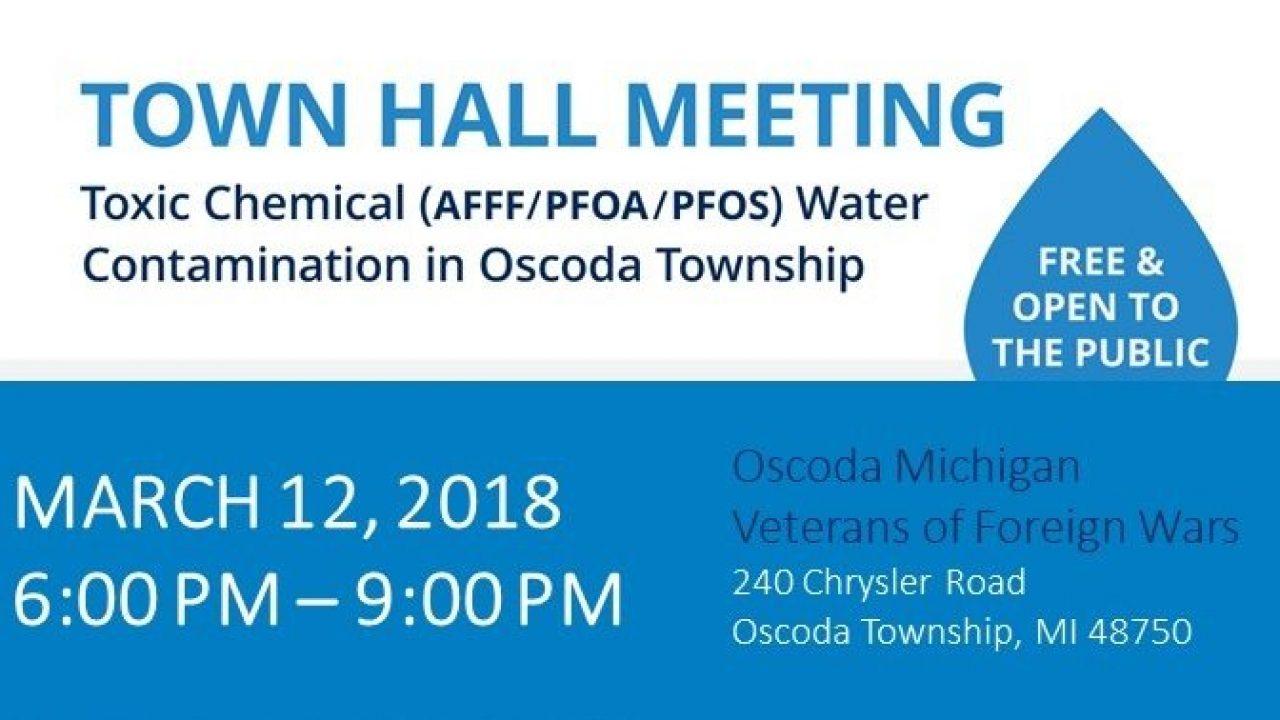 Oscoda Township Town Hall Meeting · Napoli Shkolnik