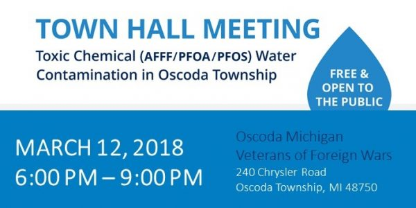 Oscoda Township Town Hall Meeting