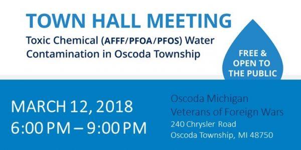 Oscoda Township Town Hall Meeting