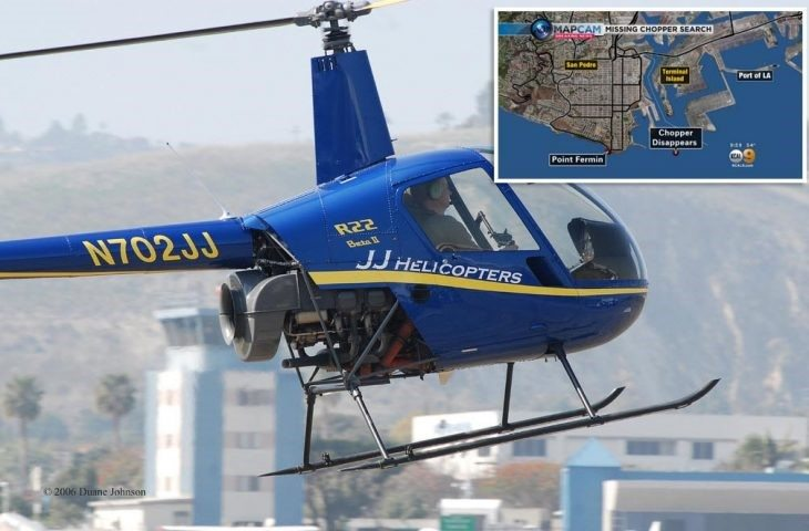 Robinson Helicopter to Investigate San Pedro Crash