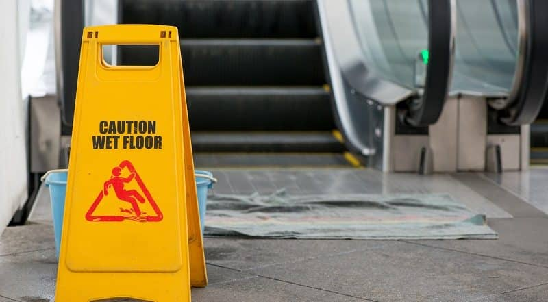 Top Causes of Slip and Fall Accident