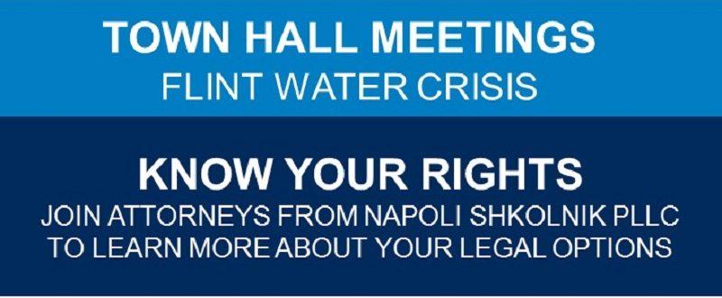 Flint Water Crisis Town Hall Meetings