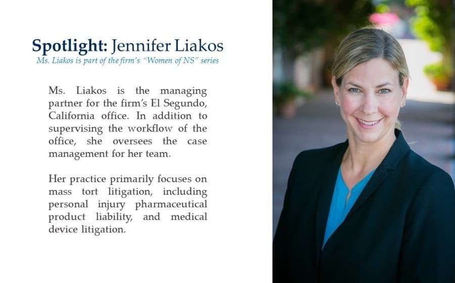 Women of NS Series Spotlight: Jennifer Liakos