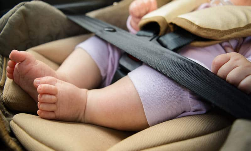 How to Be Safe with Your Baby in the Car