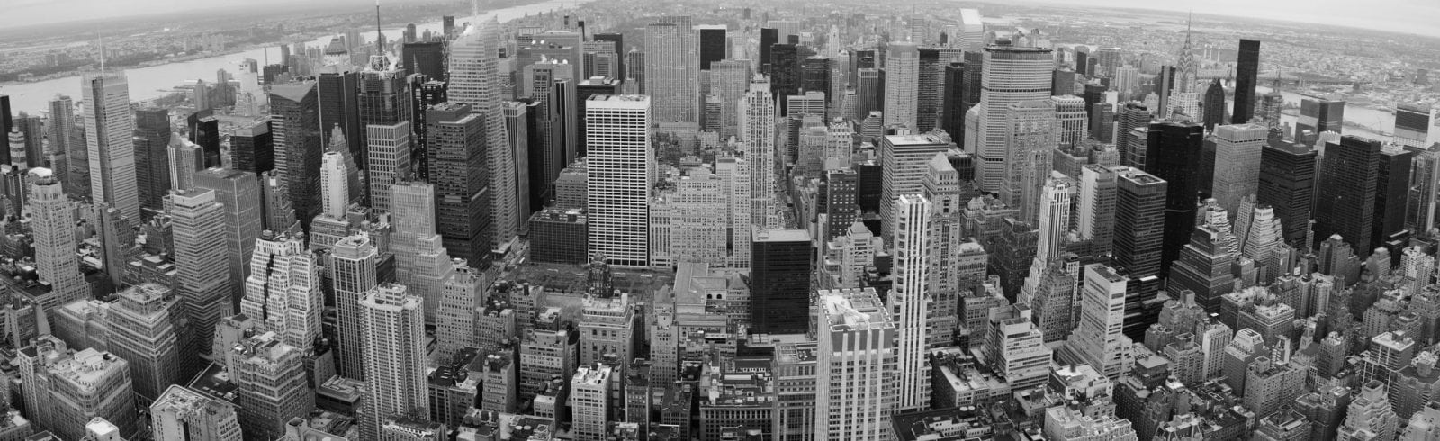 Panoramic shot of New York City