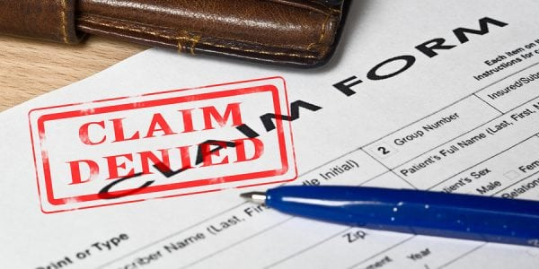 What You Should do if Your Insurance Claim is Denied