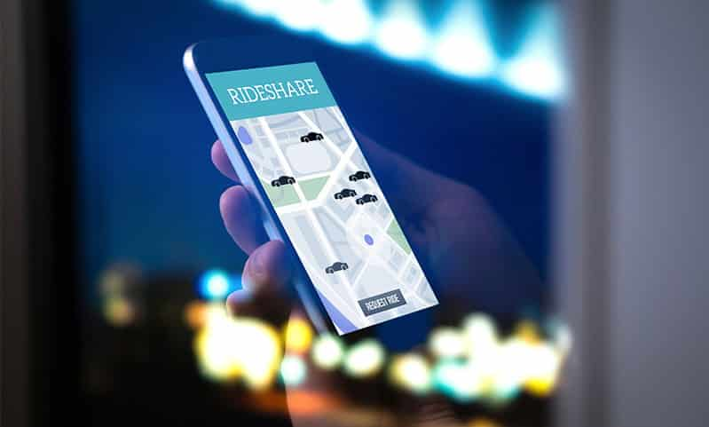 Legal Responsibility Following a Rideshare Accident