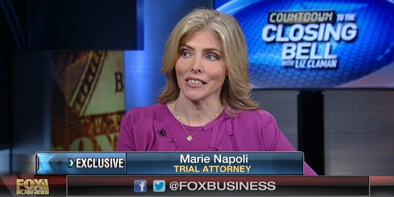 Marie Napoli On Fox Business News Napoli Shkolnik